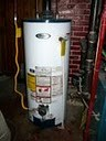 Traditional water tank heater