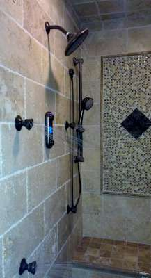 Charmant Vertical Spa Shower