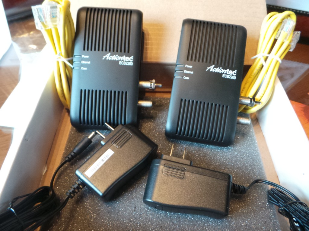 Actiontec MoCA Network Adapters